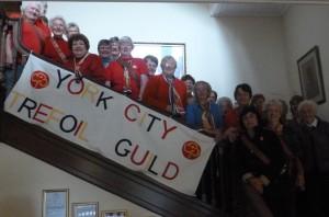 York City Trefoil Guild at Netherurd, October 2014